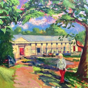 Ingestre Orangery, Acrylic On Canvas by Fine Artist Richard Bostock