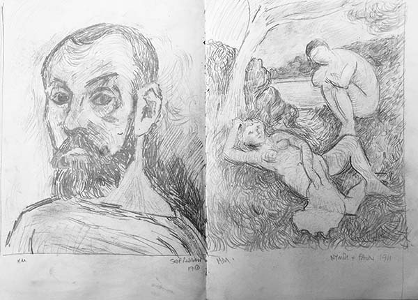 Richard Bostock Sketches
