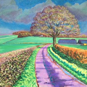 The Hanyards by Richard Bostock Fine Art Staffordshire