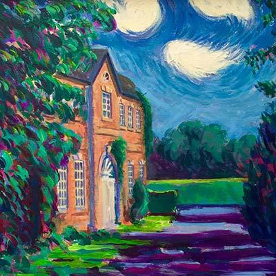 House Richard Bostock Fine Art Staffordshire
