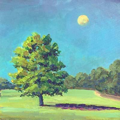 Sun Richard Bostock Fine Art Staffordshire
